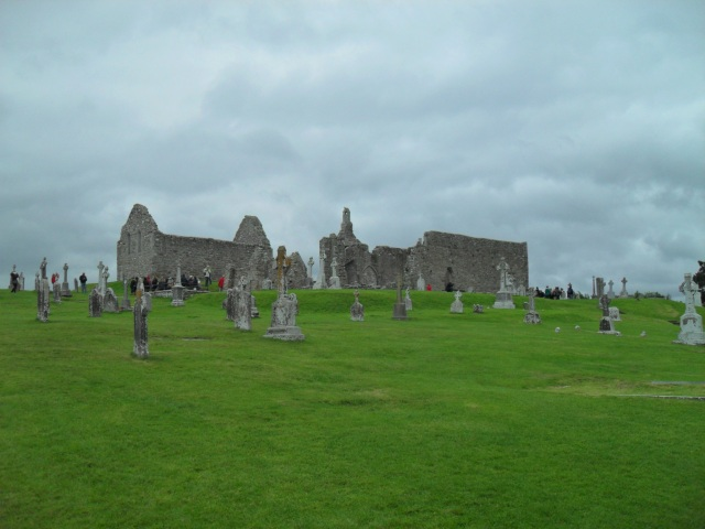 The Temples of Clonmacnoise