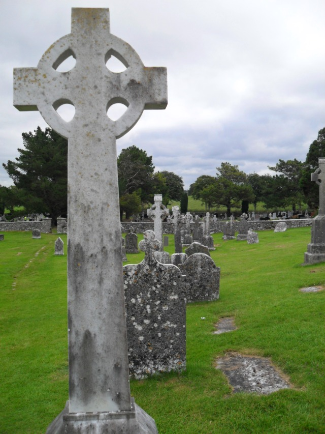 Clonmacnoise has always been a graveyard