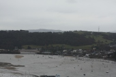 Conwy Castle sits on the opposite side of the river