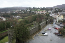 Conwy's town walls