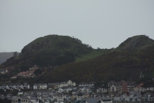 the volcanic plugs of Deganwy