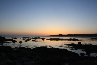Twilight over Anglesey
