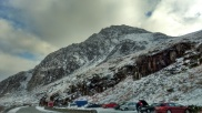 the car park at the foot of Tryfan