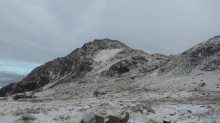 Tryfan in the snow