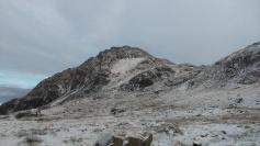Tryfan in the snow