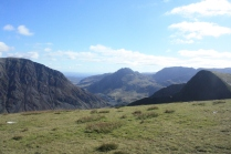 Tryfan from the Elidir Fawr