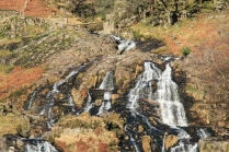 Waterfall near Yr Aran