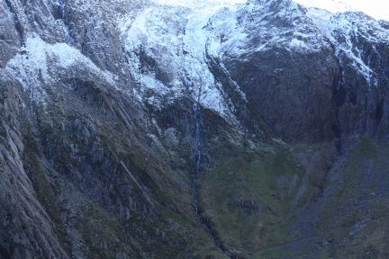 The Devil's Appendix is one of the tallest, single drop waterfall in Wales