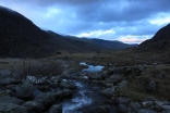 Top of the Ogwen Falls