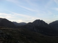 Tryfan's 'dragon back'