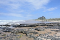Bamburgh Beach in all its glory