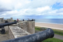 This cannons were installed in the early 1800s
