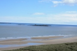Inner Farne looks lovely and sea and lot more calm than yesterday