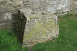 Part of an Anglo-Saxon cross