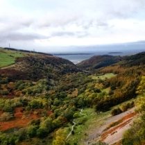 Autumn in the Aber Valley