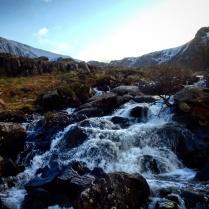 The Ogwen Falls