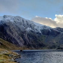 Cwm Idwal in the snow
