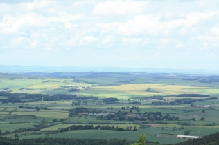 The rich farmlands made Northumberland an attractive prize to both the English and Scots