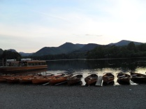 Twilight along the shores of Derwent Water