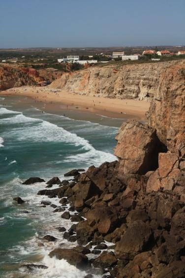 The Algarve coast
