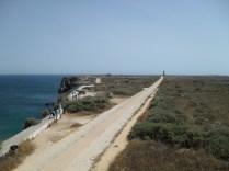 A long walk to Segres Lighthouse
