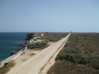 A long walk to Segres Lighthouse