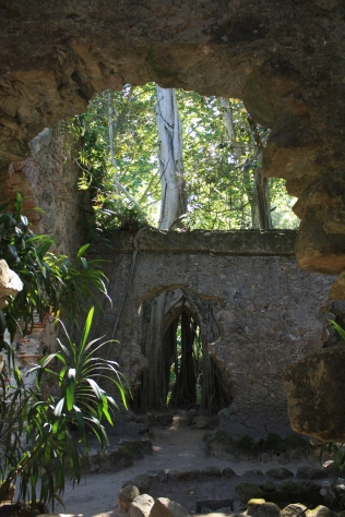 These ruins serve as a romanticist feature of the park