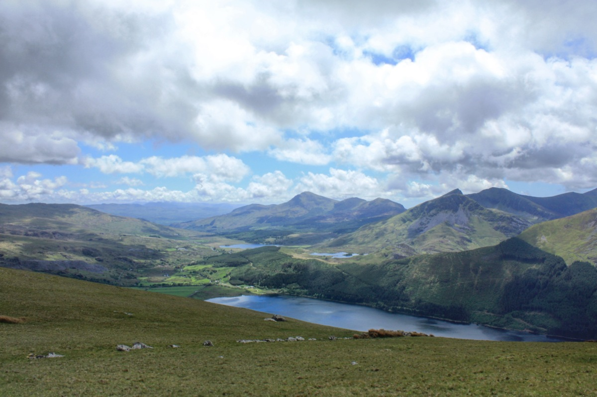 The Moel Eilio Hills,Snowdonia